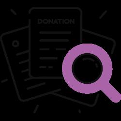 donation search
